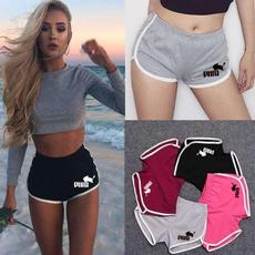 runningshort, elastic waist, Yoga, Fitness