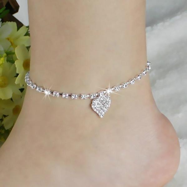Heart, Sandals, Love, Jewelry