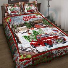 Heart, Polyester, Christmas, wishbeddingset