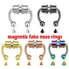 Steel, fakemagneticnosesuctiondevice, Stainless Steel, Gifts