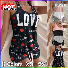 2pieceset, Vest, Shorts, Fashion