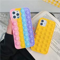 case, Cell Phone Case, Toy, pushitbubble