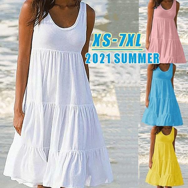 Summer, Fashion, Halter, Mini