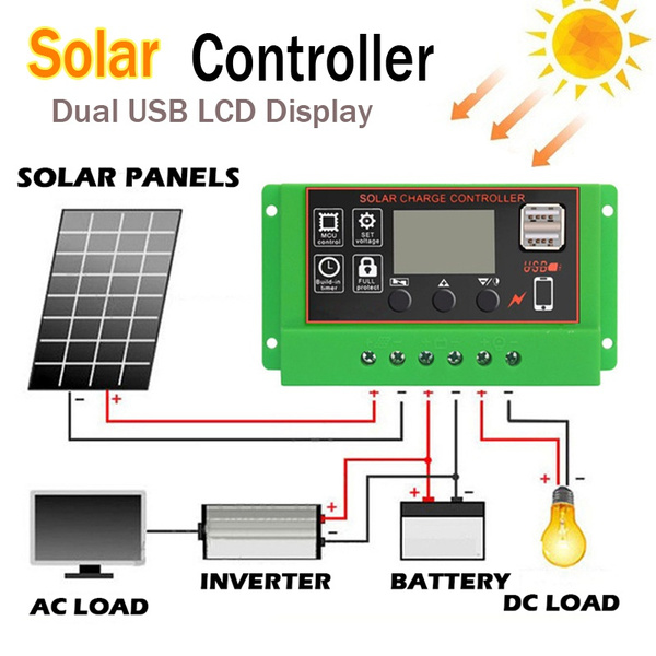 solarcontroller, solarcell, Battery, charger