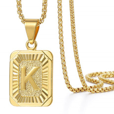Box, Jewelry, Chain, gold