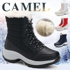 Fashion, Winter, Waterproof, Boots