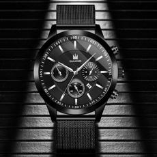 Steel, Stainless, quartz, dress watch