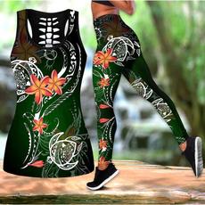 Summer, Vest, Fashion, Leggings for Women