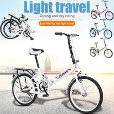 Steel, Mini, Bicycle, portable