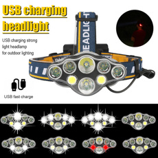 Flashlight, ledheadlampsforcar, Head, Outdoor
