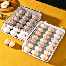 Box, eggcontainer, crisper, retainfreshnessbox