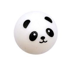 Toy, Key Chain, panda, pandastressreliefball