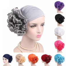 hair, Flowers, Elastic, head scarf