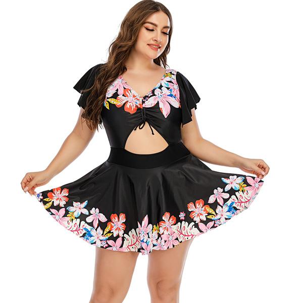 Plus Size Swimsuit, Summer, Fashion, oversizedswimsuit