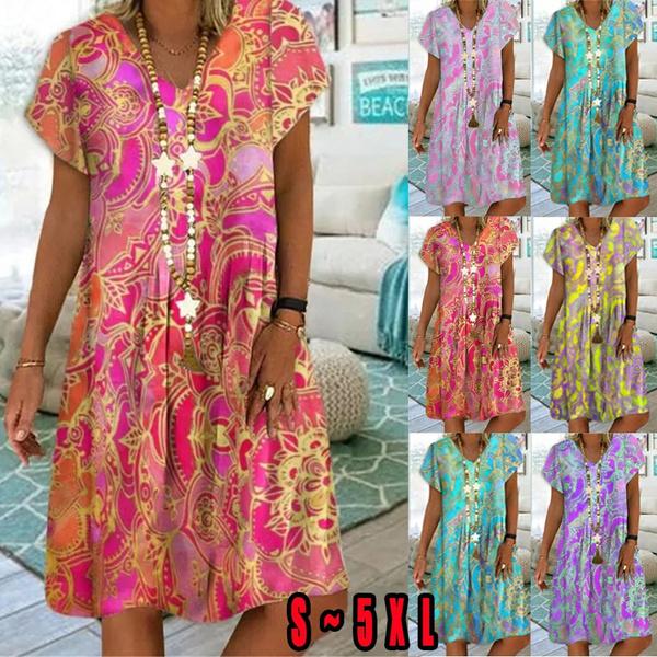 Summer, dressesforwomen, shirtforwomen, Sleeve