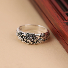 Sterling, rosering, Jewelry, courtshipring