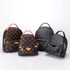 Fashion, rucksackdamen, leather, lv for womens