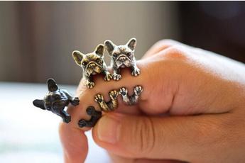 wowensfashion, Adjustable, Jewelry, bulldog