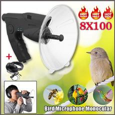 soundamplifier, natureobserving, Monocular, observingobject