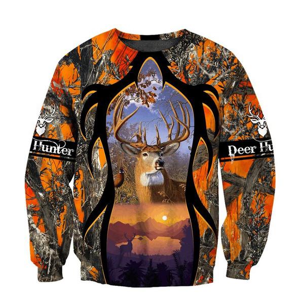 customlabel0wishsweatshirtallover, wishsweatshirtallover, Hunting, unisex