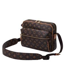 women's shoulder bags, waterproof bag, brown, Tote Bag