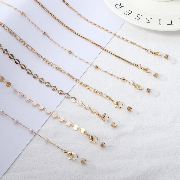 antislipeyeglasseschain, sunglasseschain, Fashion, Jewelry
