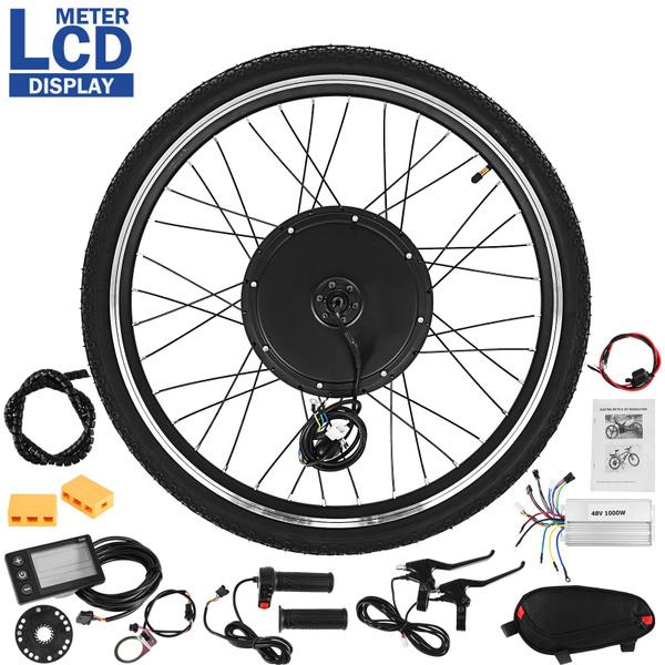 , Mountain, Cycling, 48v1000w26frontwheelelectricbikeconversionkit