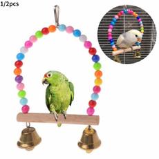 parrotladder, Toy, Joyería de pavo reales, Wooden