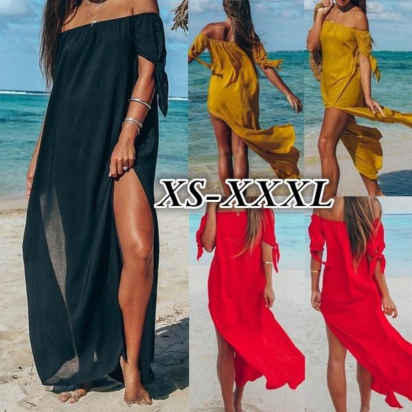 Slimwaist, Summer, Fashion, long dress