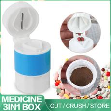 pulverizer, Splitter, drugcontainer, pillbox