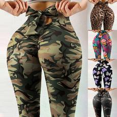 bowknot, Leggings, trousers, Yoga
