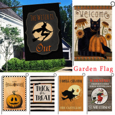 ghost, farmhouse, Outdoor, welcomegardenflag
