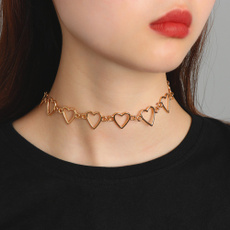 Fashion, Chain, Stainless Steel, gold necklace