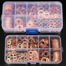 screw, coppergasket, copperwashersassortmentset, steelwasher