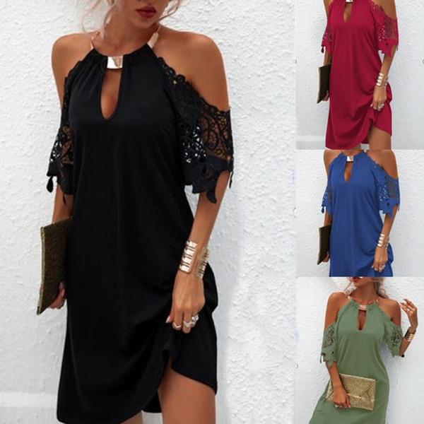 Summer, Plus Size, halter dress, Necks