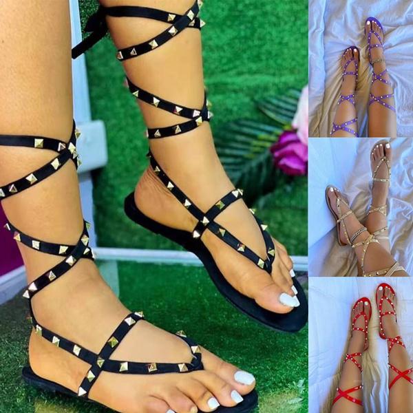 Sandals & Flip Flops, flatslipper, Women Sandals, Summer