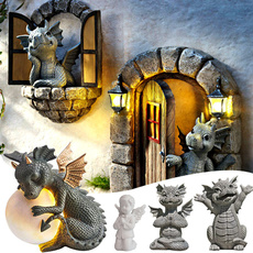 cute, homegardendecor, Outdoor, dragonstatue