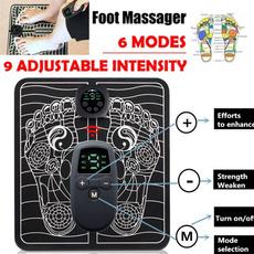 footmassager, Electric, footmassagerpad, musclestimulator