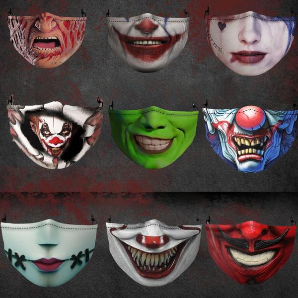 3dfacemask, funny3dfacemask, funnyhalloweenmask, Halloween