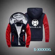 plusfleecewarmtop, casualwarmjacket, Fashion, Winter