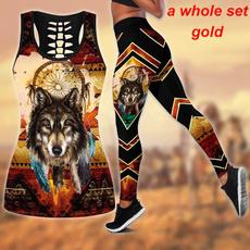 Vest, Fashion, Tank, pants