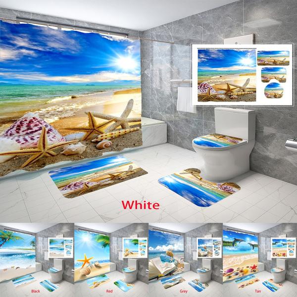 Bathroom, theme, bathroomdecor, Cushions