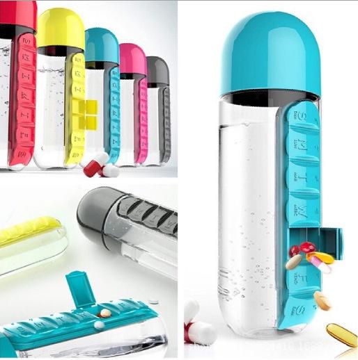 Box, Bottle, pillholder, pillcase