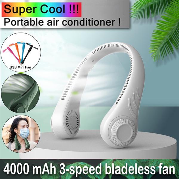Headphones, Summer, neckfan, minineckfan