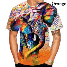 Shorts, Shirt, animal print, tshirtsforwoman