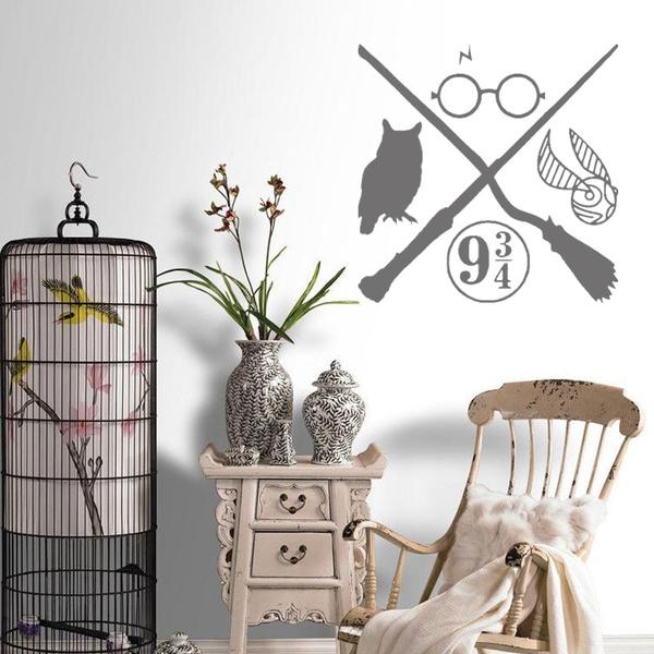 Owl, art, windowsticker, Home Decor