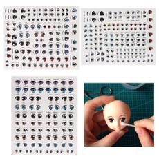 cute, roundsafetyeye, eye, handmadeplushdoll