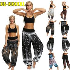Fashion, Yoga, high waist, Casual pants