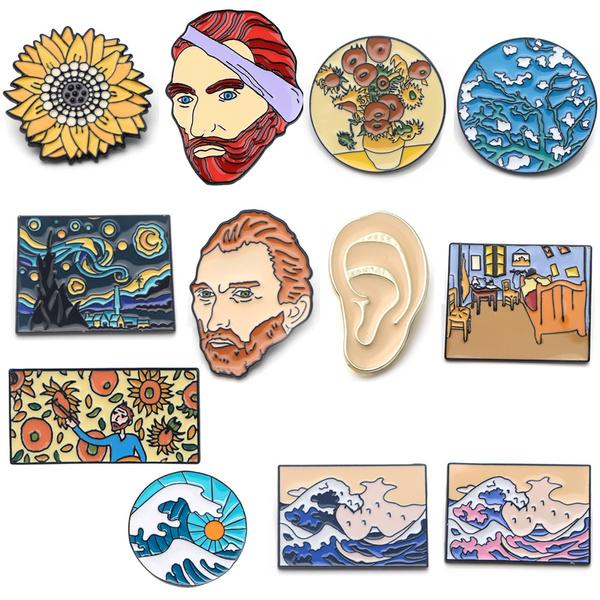 backpackbadge, Pins & Brooches, art, Pins