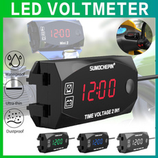 leddisplayclock, motorcycleaccessorie, led, Clock